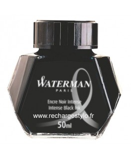 Waterman Flacon 50ml D'encre Noir Intense