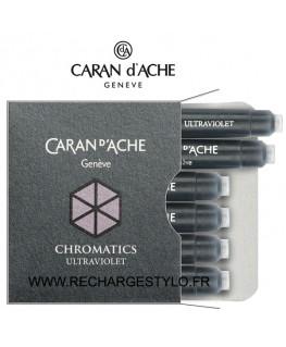 Cartouches d'encre Caran d'Ache Chromatics Ultra Violet, Réf_8021.099