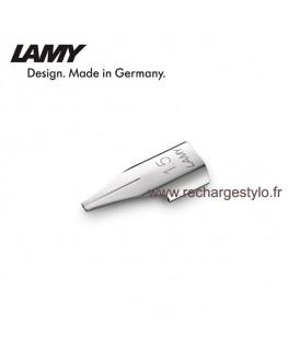 Plume Lamy Z50 Taille 1,5 en acier poli 1215051