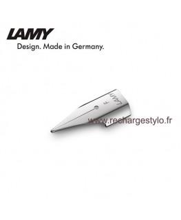 Plume Lamy Z50 Taille F en acier poli 1215053