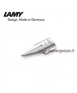 """Plume Lamy Z50 Taille LH """"Spécial Gaucher"""" en acier poli 1215050"""