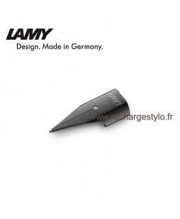 Plume Lamy Z50 Taille F en acier noir 1215058