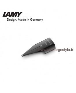 """Plume Lamy Z50 Taille LH """"Spécial Gaucher"""" en acier noir 1215062"""