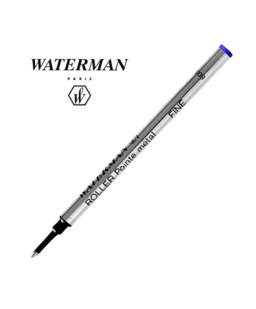 Recharge-Roller-Waterman-Bleu-Réf_S0112680