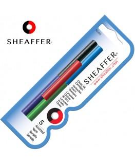 Cartouches d'encre Sheaffer 5 Coloris Variés 96400