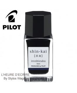 Mini Flacon D'encre Pilot Iroshizuku Shin-Kai INK-15-SNK