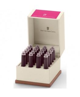 Ecrin de Cartouches d'Encre Graf Von Faber Castell Electric Pink 141144