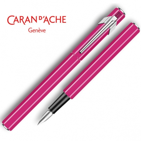 stylo-plume-caran-dache-849-vernis-pourpre-fluo_840.090