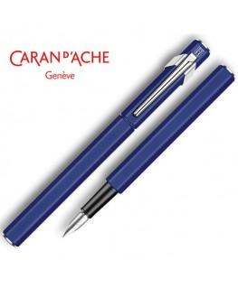 Stylo Plume Caran d'Ache 849 Vernis Bleu 840.159