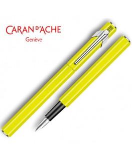 stylo-plume-caran-dache-849-vernis-jaune-fluo_840.470
