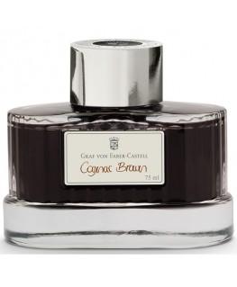 Flacon d'Encre Graf von Faber Castell Cognac Brown 141016