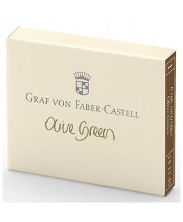 Cartouche D'encre Graf von Faber Castell Olive Green 141115