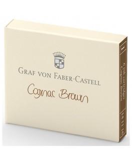 Cartouche D'encre Graf von Faber Castell Cognac Brown 141116