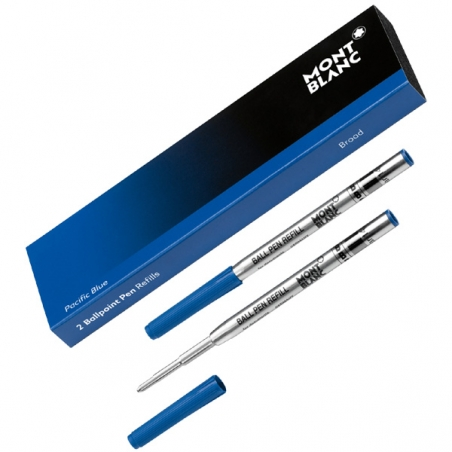 2 Recharges Bille Montblanc Pacific Blue Large 116214