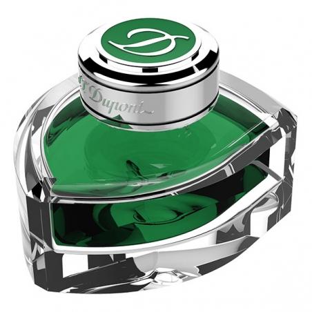 Flacon d'Encre ST Dupont Line D Vert Printemps 040163