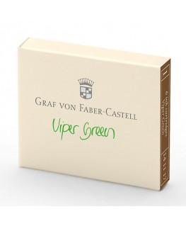 Cartouche D'encre Graf von Faber Castell Vert Reptile 141117