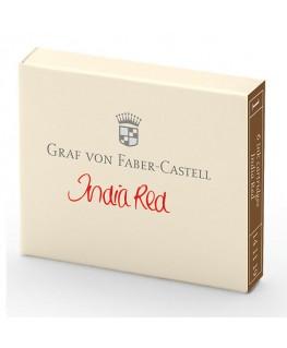 Cartouche D'encre Graf von Faber Castell Rouge Indien 141119