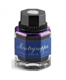 Flacon d'encre violet montegrappa réf IA01BZIL