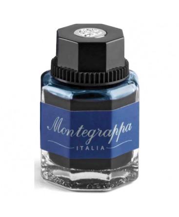 Flacon d'encre Bleu Noir Montegrappa Réf IA01BZID