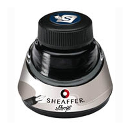 Flacon 50ml d'encre Sheaffer Bleu Noir 94211