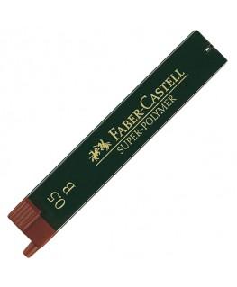 Etui de 12 Mines Super Polymer 0,5mm B Faber-Castell Réf_120501