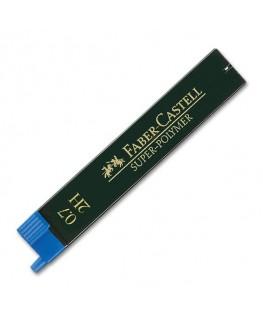 Etui de 12 Mines Super Polymer 0,7mm 2H Faber-Castell Réf_120712