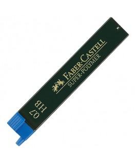 Etui de 12 Mines Super Polymer 0,7mm HB Faber-Castell Réf_120700
