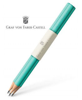 crayons-graphite-graf-von-faber-castell-guilloche-turquoise-ref_118624