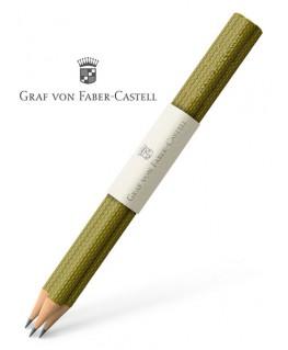 crayons-graphite-graf-von-faber-castell-guilloche-vert-olive-ref_118627
