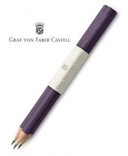 crayons-graphite-graf-von-faber-castell-guilloche-violet-ref_118628