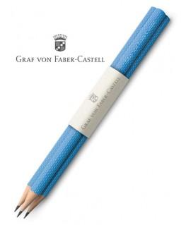 crayons-graphite-graf-von-faber-castell-guilloche-bleu-azur-ref_118631