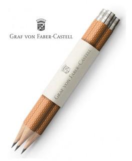 crayons-graphite-de-poche-graf-von-faber-castell-guilloche-cognac-ref_118665