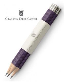 crayons-graphite-de-poche-graf-von-faber-castell-guilloche-violet-ref_118664