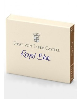 cartouches-d-encre-graf-von-faber-castell-bleu-royal-ref_141109