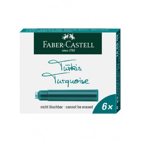cartouches-d-encre-faber-castell-turquoise-ref_185509