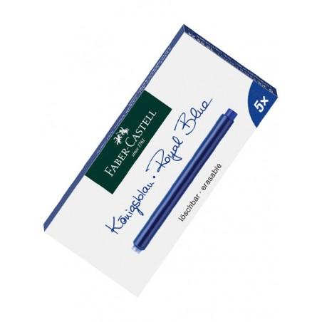 cartouches-d-encre-longues-faber-castell-bleu-royal-ref_185524