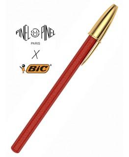 stylo-bic-cristal-gainage-en-cuir-rouge-pinel-et-pinel_a-20-05275