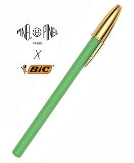 stylo-bic-cristal-gainage-en-cuir-vert-pinel-et-pinel_a-20-05279