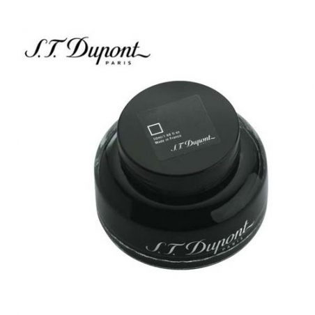 Flacon 50ml d'encre St Dupont Noir 040157