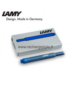 Cartouche d'encre Lamy T10 Bleu Effaçable 1202077