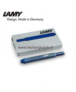 Cartouche d'encre Lamy T10 Bleu-Noir 1210655