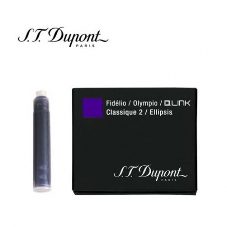 Cartouche d'encre Inter St Dupont Violet 040115