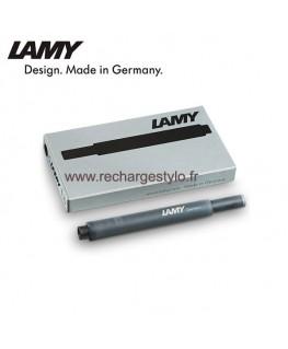Boite de 5 Cartouches d'encre Lamy T10 Noir Réf_1202075