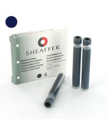 Cartouches d'encre Sheaffer Bleu Noir 96310