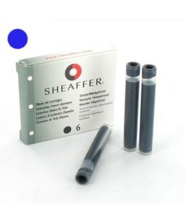 Cartouches d'encre Sheaffer Bleu 93320