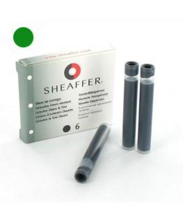 Cartouches d'encre Sheaffer Vert 96350