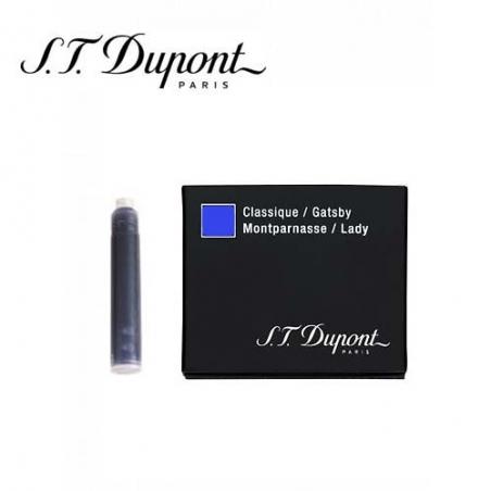 Cartouche d'encre Classic St Dupont Bleu Royal 040102