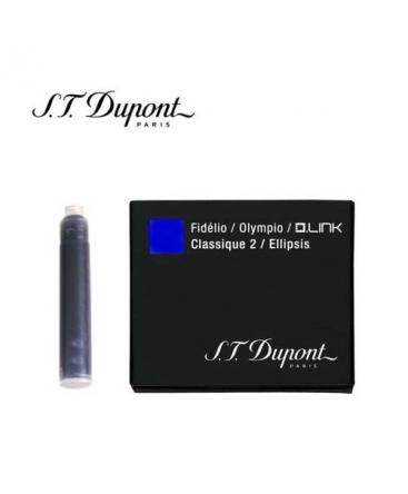 Cartouche d'encre Inter St Dupont Bleu Royal 040112