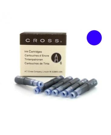 Cartouche d'encre Slim Cross Bleue réf 8929