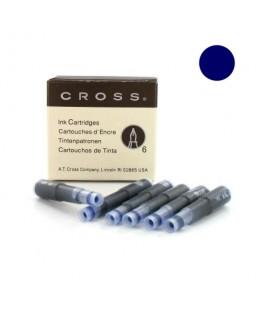 Cartouche d'encre Slim Cross Bleu Nuit 8929TD-3